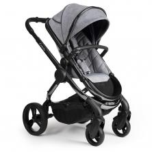 iCandy Peach Phantom Stroller + Maxi Cosi Cabriofix 0+ Car Seat-Light Grey Check (New 2020)