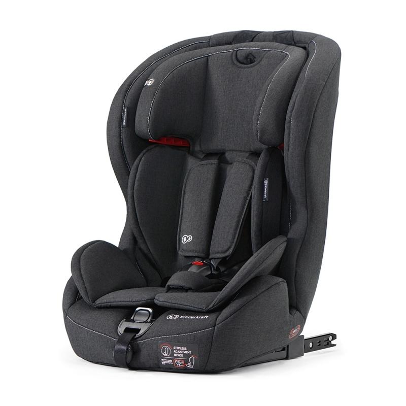Kinderkraft Safety-Fix Car Seat with Isofix System-Black