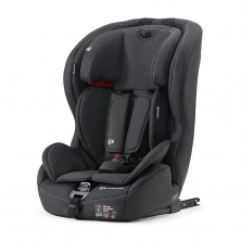 Kinderkraft Safety-Fix Group 1/2/3 Car Seat with ISOFIX Base-Black