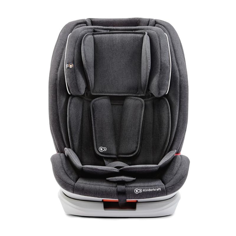 Kinderkraft Oneto3 Car Seat with Isofix System-Black