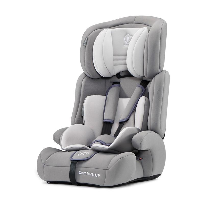 Kinderkraft Comfort Up Group 1/2/3 Car Seat-Grey