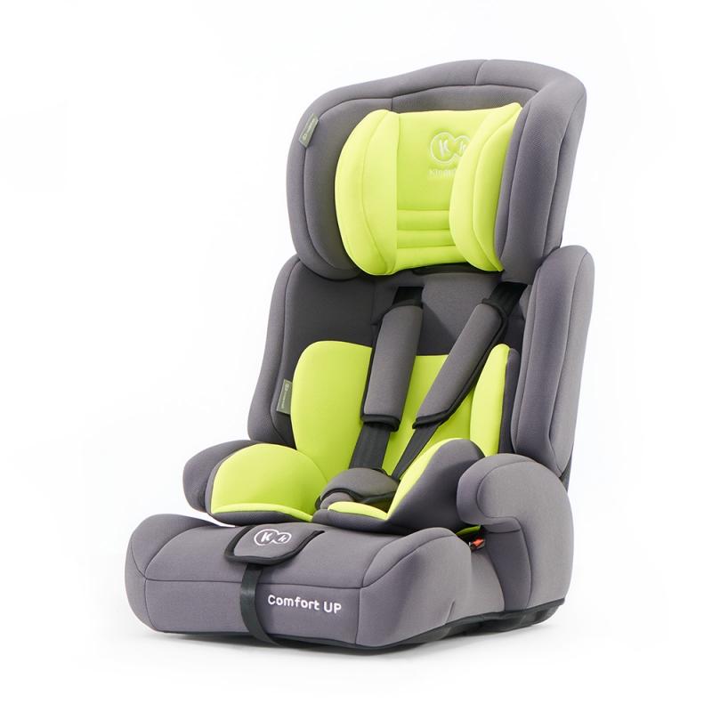 Kinderkraft Comfort Up Group 1/2/3 Car Seat-Lime