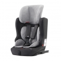 Kinderkraft Fix2Go Group 1/2/3 Car Seat with ISOFIX Base-Black/Grey