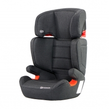 Kinderkraft Junior Fix Group 2/3 Car Seat with ISOFIX Base-Black