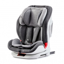 Kinderkraft Oneto3 Group 1/2/3 Car Seat with ISOFIX Base-Black/Gray