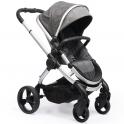 ICandy Peach Satin Stroller-Dark Grey Check