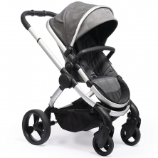 iCandy Peach Satin Stroller-Dark Grey Check (New 2019)