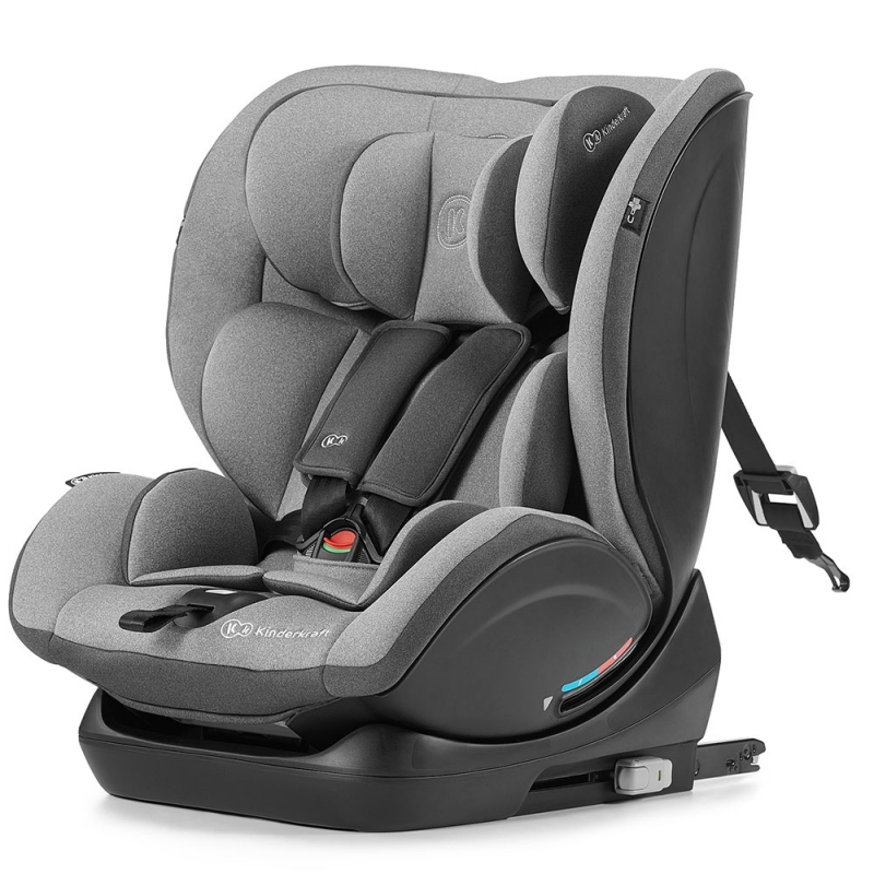 Kinderkraft Myway Car Seat with Isofix System-Grey