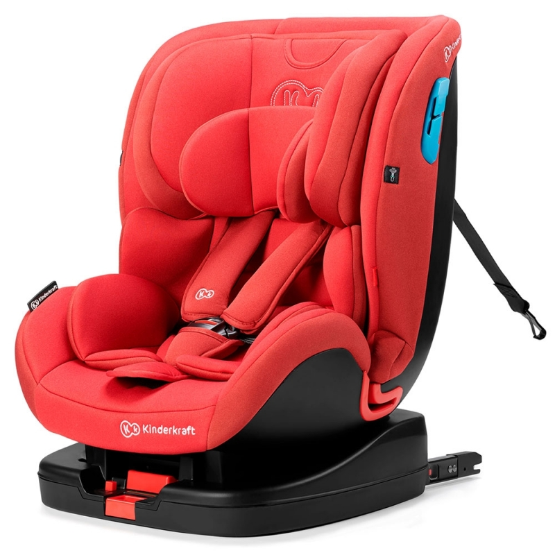 Kinderkraft Vado Car Seat With Isofix System-Red