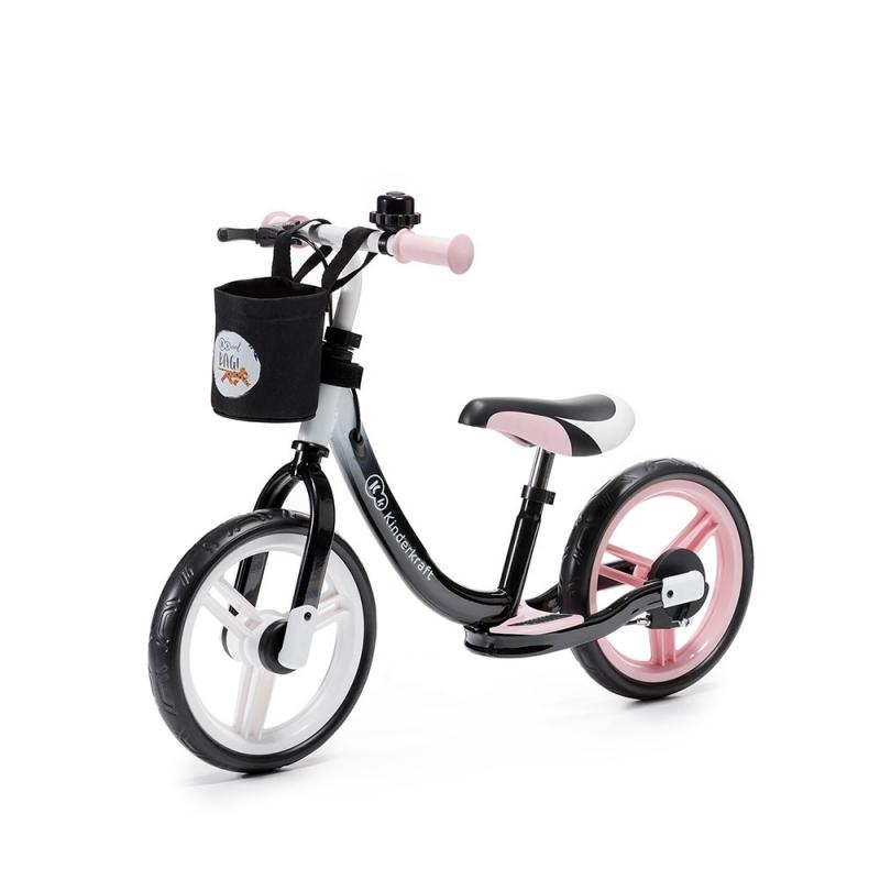 Kinderkraft Space Balance Bike-Pink