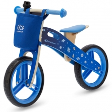 Kinderkraft Runner Balance Bike with Accessories-Galaxy Blue