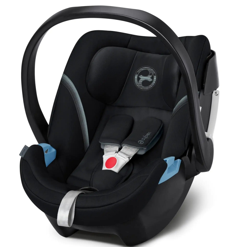 Cybex Aton 5 Group 0+ Car Seat - Deep Black (New 2020)