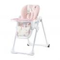 Kinderkraft Yummy High Baby Feeding Chair-Pink