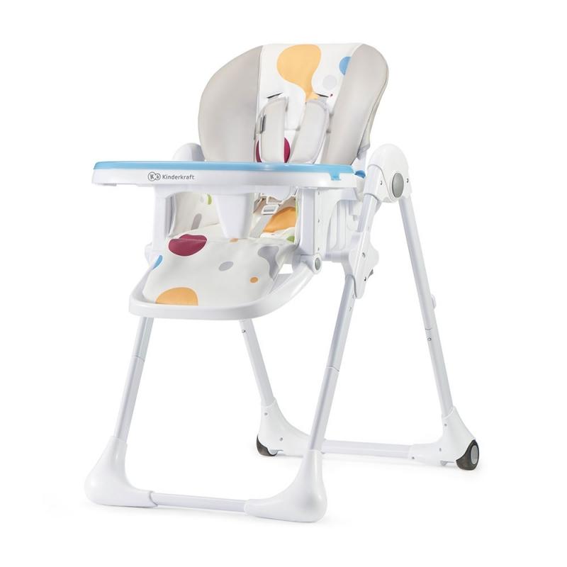 Kinderkraft Yummy High Baby Feeding Chair-Multi