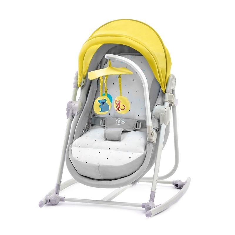 Kinderkraft UNIMO 5in1 Cradle-Yellow