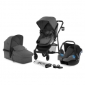 Kinderkraft Juli 3in1 Travel System-Grey
