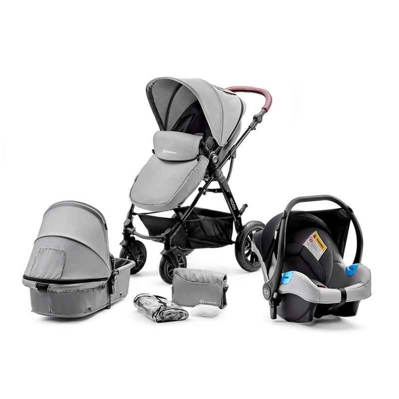 Kinderkraft Moov 3in1 Pushchair-Grey