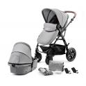 Kinderkraft Moov 2in1 Pram System-Grey