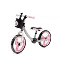 Kinderkraft 2Way Next Balance Bike with Accessories-Light Pink