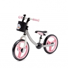 Kinderkraft 2Way Next Balance Bike with Accessories-Light Pink