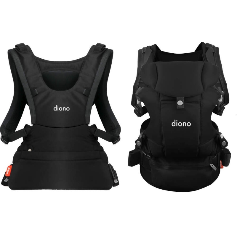 Diono Carus Essentials 3 in 1 Baby Carrier- Black