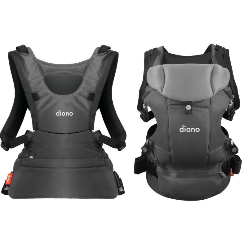 Diono Carus Essentials 3 in 1 Baby Carrier- Light Grey