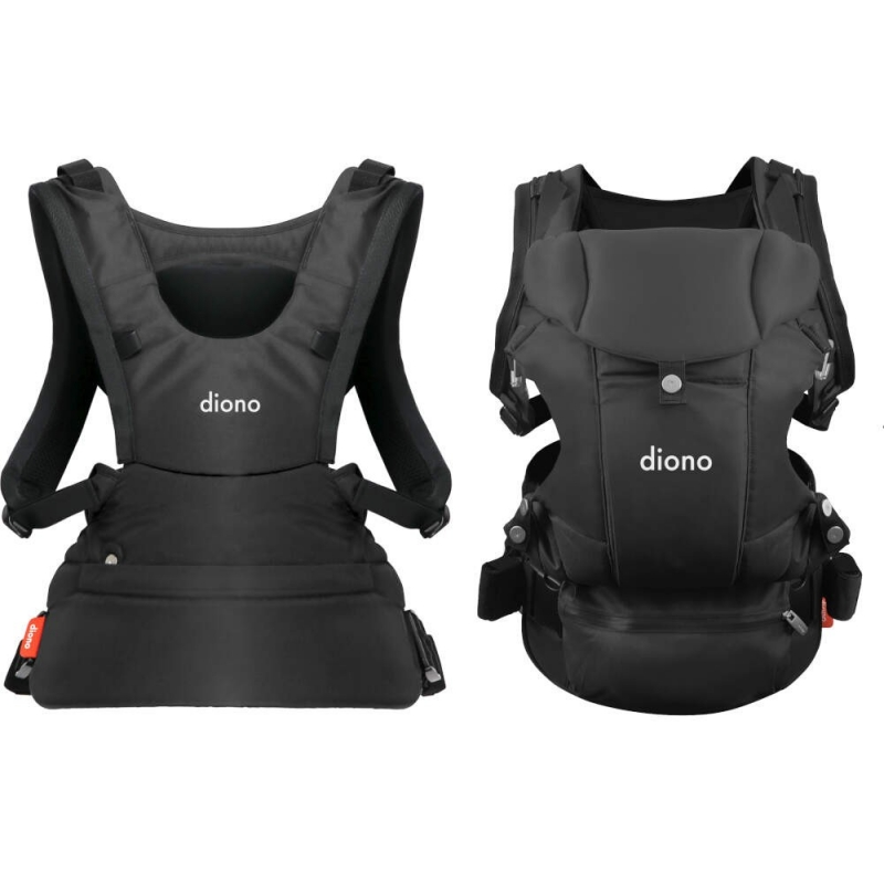 Diono Carus Essentials 3 in 1 Baby Carrier- Dark Grey