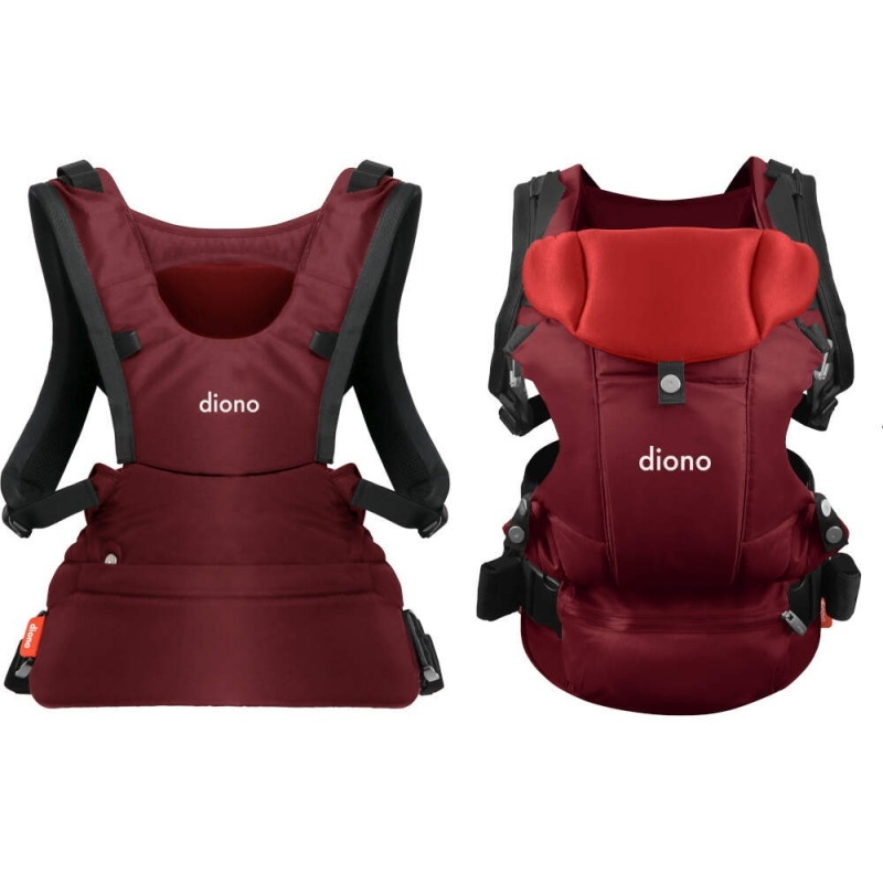 Diono Carus Essentials 3 in 1 Baby Carrier- Red