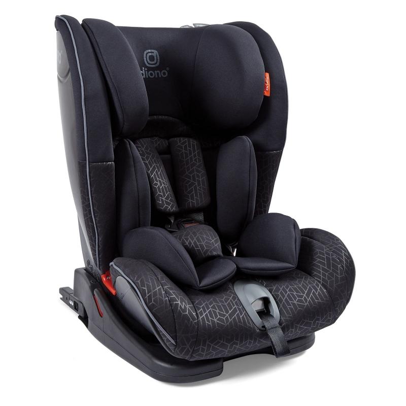 Diono Orcas NXT Group 1/2/3 Car Seat- Black