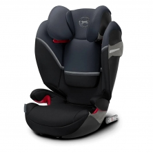 Cybex Solution S-Fix Group 2/3 Car Seat- Granite Black (2020)