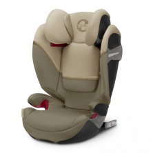 Cybex Solution S-Fix Group 2/3 Car Seat- Classic Beige (2020)