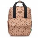 Babymel Georgi Eco Convertible Backpack- Caramel Leopard