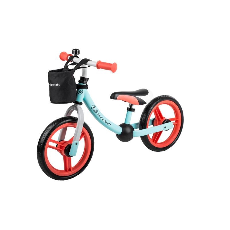 Kinderkraft 2Way Next Balance Bike with Accessories-Mint
