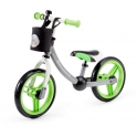 Kinderkraft 2Way Next Balance Bike with Accessories-Green/Gray