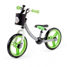 Kinderkraft 2Way Next Balance Bike with Accessories-Green/Gray