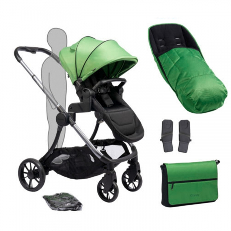 iCandy Lime Plus Stroller-Moonrock/Lime (New)