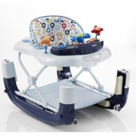 My Child Walk n Rock Baby Walker/Rocker-Blue