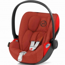 Cybex Cloud Z i-Size Plus Group 0+ Car Seat-Autumn Gold (2020)