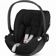 Cybex Cloud Z i-Size Group 0+ Car Seat-Deep Black (2020)