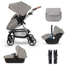 Silver Cross Wayfarer Travel System Bundle-Camden