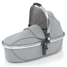 egg® Mirror Finish Exclusive Carrycot-Frosted Steel