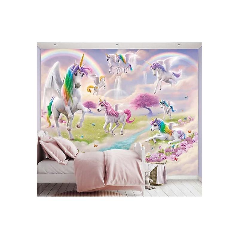 Wall Mural-Magical Unicorn