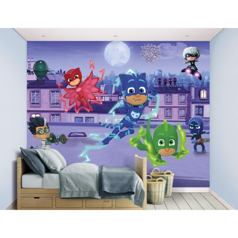 Wall Mural-PJ Masks