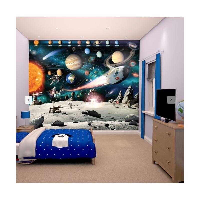 Wall Mural-Space Adventure