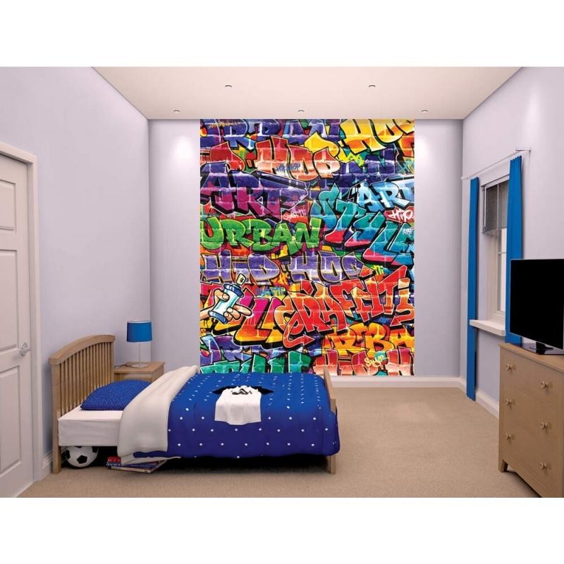 Walltastic Wall Mural-Graffiti