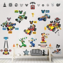 Room Décor Kit-Disney Mickey Mouse Roadster Racer