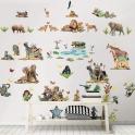 Walltastic Room Décor Kit-Jungle Safari