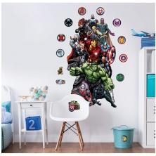 Walltastic Large Character Sticker-Marvel Avengers