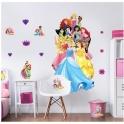 Walltastic Large Character Sticker-Disney Princesses