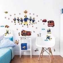 Walltastic Wall Stickers-Fireman Sam